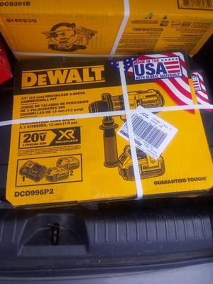 New dewalt hammer drill kit for Sale in Bluffton, SC