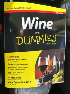 Wine books for Sale in Templeton, CA