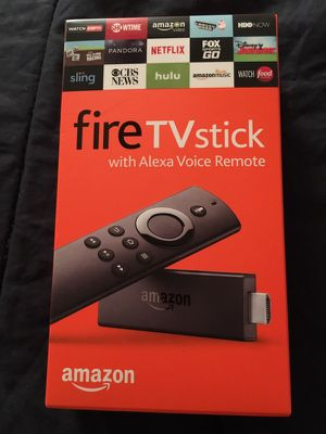 Amazon firestick w/voice remote for Sale in St. Louis, MO