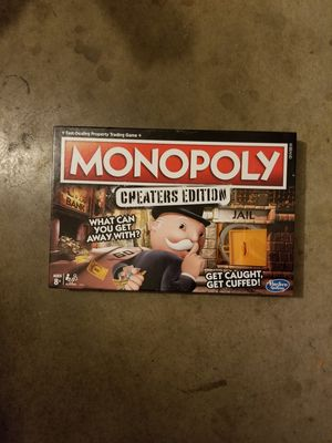 Monopoly Cheaters Edition - $15 for Sale in Temecula, CA