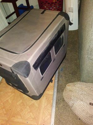 Folding dog crate $45.00 for Sale in Prattville, AL