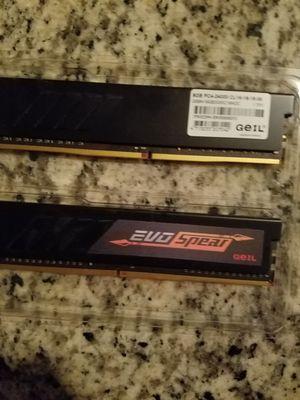 2 8gb= 16 gb of desktop memory for Sale in Boynton Beach, FL