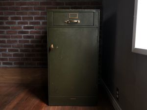 Vintage US Postal Service Metal Cabinet made by The Globe Wernicke Co. for Sale in Portland, OR