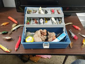 Fishing Tackle Box & Tacle for Sale in San Francisco, CA