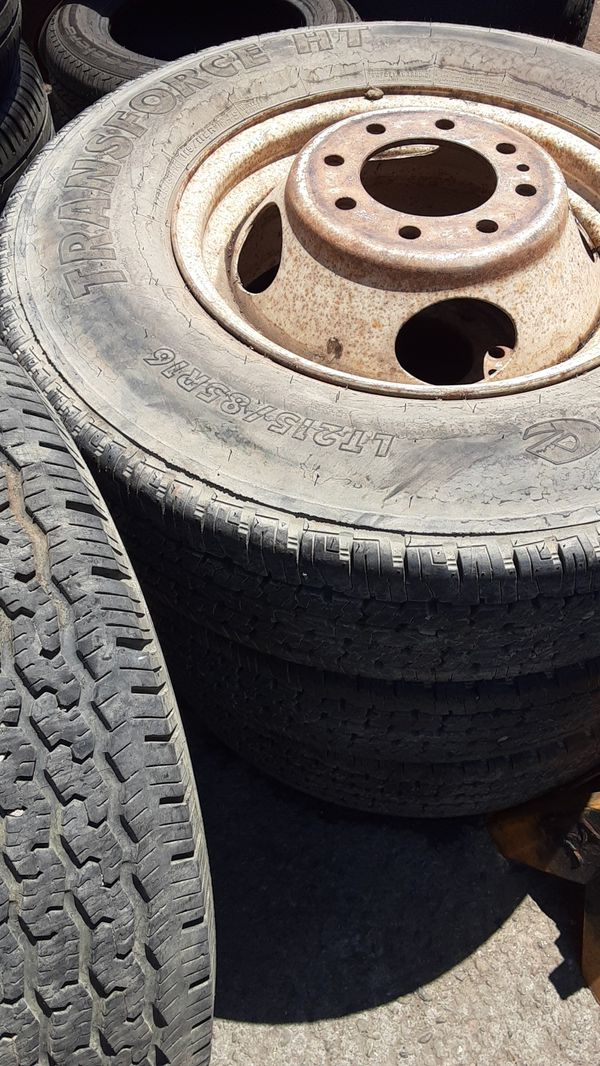 Lt215-85-16 used tires