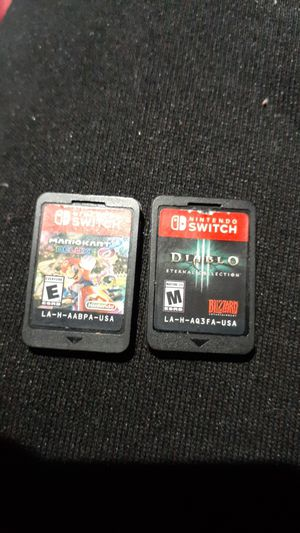 Nintendo switch games for Sale in Collinsville, IL