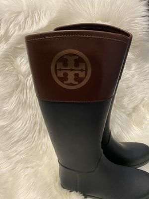 Tory Burch rain boots for Sale in Fort Washington, MD