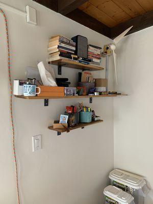 Poplar Wall Mount Shelves for Sale in San Diego, CA