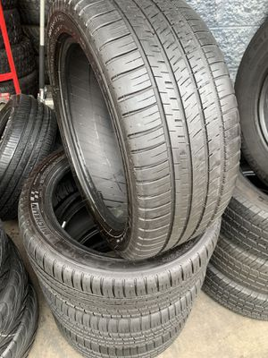 245/45/18 set of Michelin tires installed for Sale in Ontario, CA