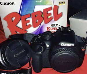 Canon Rebel T5 Camera for Sale in Orlando, FL