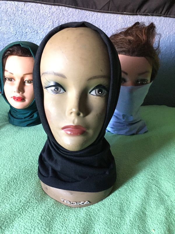 Black Cooling Head Gaiter