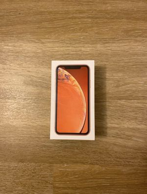 iPhone XR 256G Coral Unlocked (Like new) for Sale in Oakland, CA