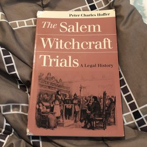 The Salem Witchcraft Trails A Legal History By Peter Charles Hoffer for Sale in McDonough, GA