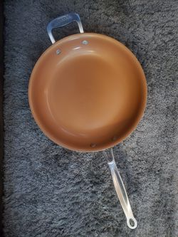 """Red Copper 12 """" frying pan for Sale in Lincoln,  NE"""
