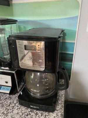 MR. COFFEE - coffee maker for Sale in Falls Church, VA