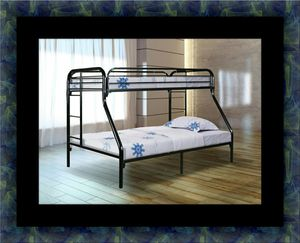 Full twin bunk bed frame for Sale in Laurel, MD