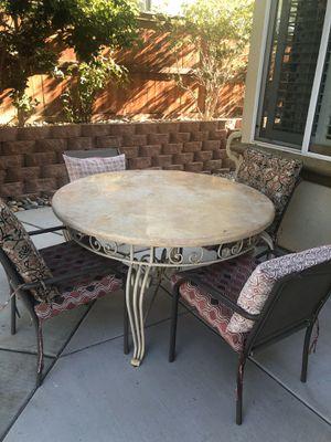 Patio Table Set for Sale in Murrieta, CA