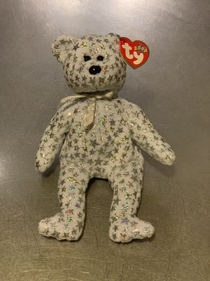 TY Beanie Baby The Beginning Bear Collectible Toy Lot Of 2 for Sale in Alafaya, FL