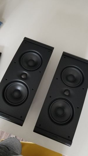 polk audio owm5 speakers for Sale in Atlanta, GA