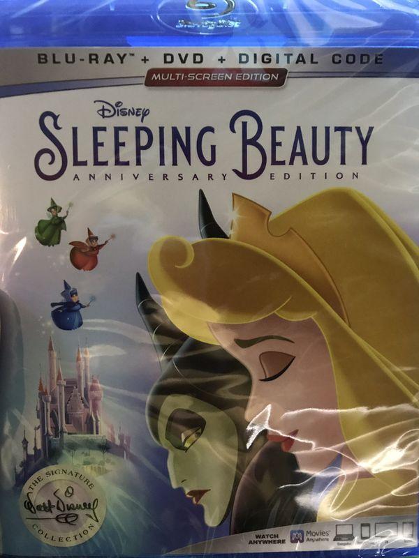 Disney's SLEEPING BEAUTY Blu-Ray *NEW*