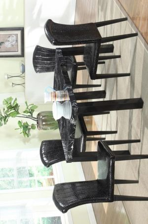 🍀Sunny 5-Piece Black Dining Room Set | for Sale in Jessup, MD