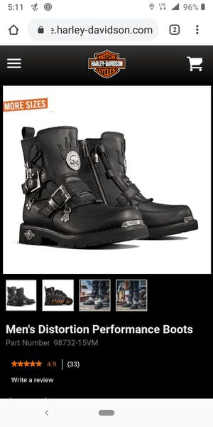 Harley Davidson boots by Wolverine for Sale in Krum, TX
