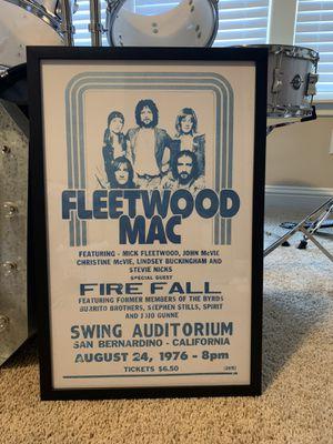 Fleetwood Mac poster for Sale in Georgetown, TX