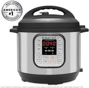 Instant Pot DUO80 8 Qt 7-in-1 Multi- Use Programmable Pressure Cooker for Sale in Las Vegas, NV