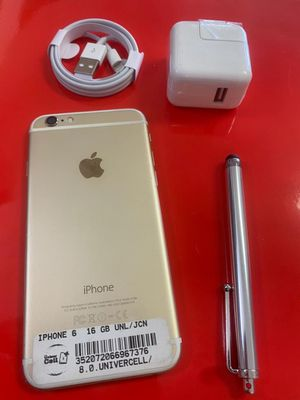 IPHONE 6 unlocked for any carrier clean with warranty for Sale in Temple Terrace, FL