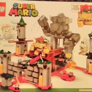 Lego Bowser's Castle Boss Battle & Starter Course Adventure With Mario for Sale in SeaTac, WA