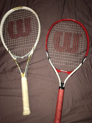 Wilson tennis rackets/bag for Sale in Concord, NC