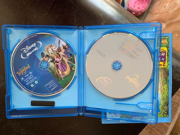 Blue-ray + DVD Disney Tangle movie