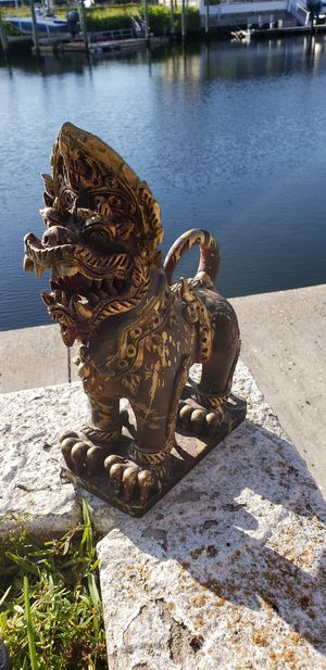 Asian Chinese Japanese Foo Dog statue for Sale in New Port Richey, FL
