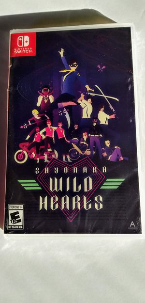 Sayonara Wild Hearts, Nintendo Switch Game BRAND NEW UNOPENED FACTORY SEALED $55 obo for Sale in Modesto, CA