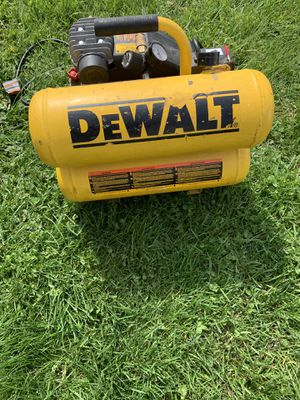Air compressor dewalt for Sale in Groveport, OH