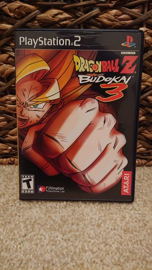 PS2 - DragonBall Z: Budokai 3 for Sale in Redmond, WA