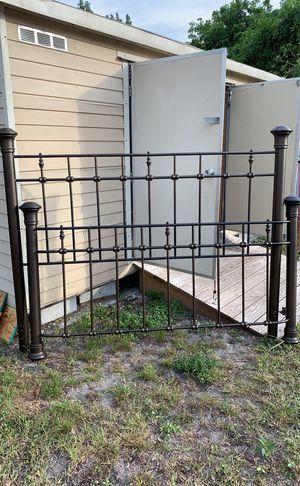 Metal Bed Headboard & Footboard for Sale in Hialeah, FL