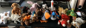 Lot of 17 TY Beanie Babies for Sale in Lake Elsinore, CA