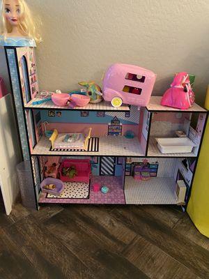 Lol doll house read description for Sale in Goodyear, AZ