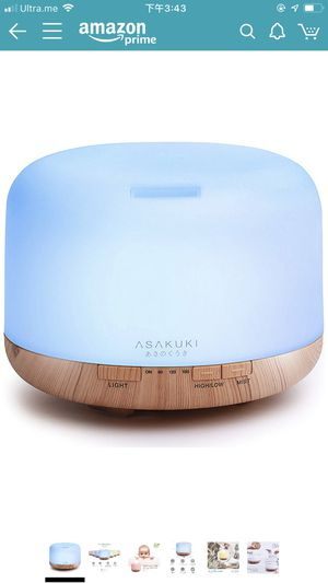 Aroma diffuser mist humidifier for Sale in Seattle, WA