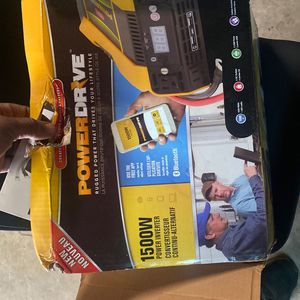 Power Inverter 1500 Watt New In Box Never Used for Sale in St. Peters, MO