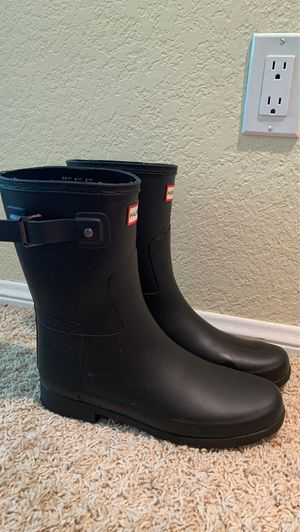Hunter Women's Refined Slim Fit Short Rain Boots for Sale in Rancho Cucamonga, CA