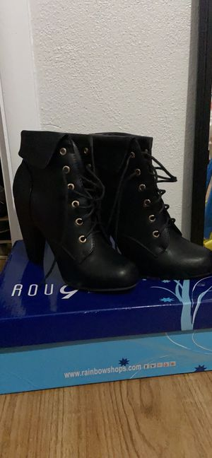 Rouge Helium heels boots for Sale in Severn, MD