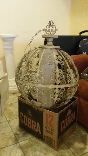 Metal Filigree Chandelier for Sale in Baltimore, MD