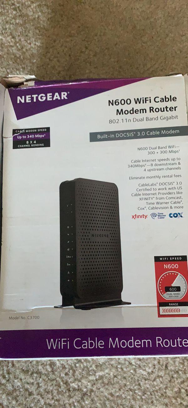 Netgear N600 Router