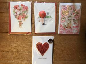 Lot of four Valentines cards (I) for Sale in Takoma Park, MD