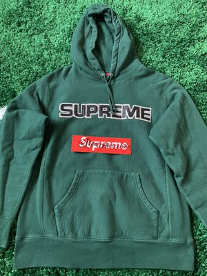 Supreme Perforated Leather Hoodie for Sale in Aurora, CO