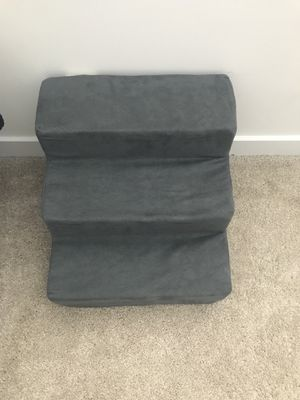 Foam pet stairs (for small dog up to 15lbs) for Sale in Alexandria, VA