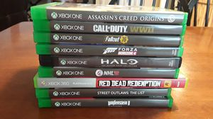 9 xbox one games for Sale in Safety Harbor, FL