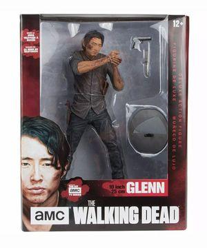 McFarlane Toy *Glenn* 10-Inch Deluxe Action Figure Walking Dead Figurine - NEW! for Sale in Phoenix, AZ